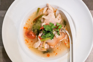 Chicken Tom yum