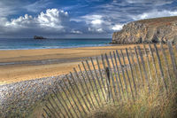 HDR - beach in Brittany, France (Plage de Pen Hat)
