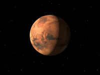 Planet Mars done with NASA textures