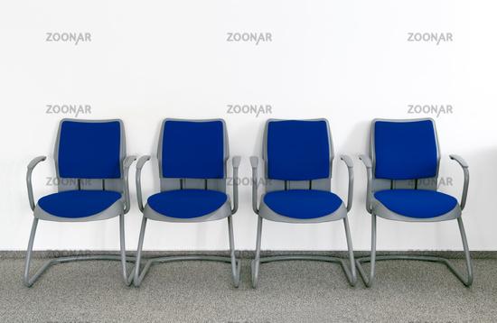 Ordinary waiting room