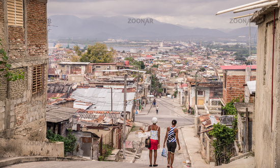 Street in Santiago de Cuba