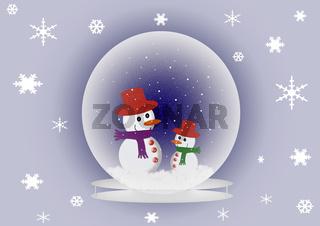 Schneekugel