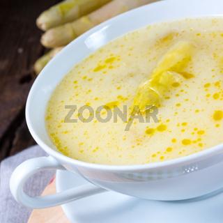 Asparagus Cream Soup