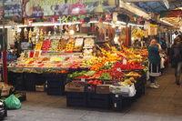 Mercado do Bolhao market hall Porto , Portugal
