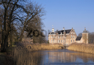 Castle in the Dutch village Ruurlo