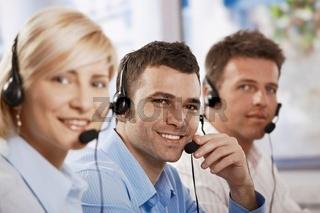 Customer service operators