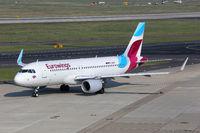 Eurowings Airbus A320 Flugzeug Flughafen Düsseldorf