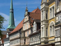 Hamelin - Old town houses, Germany