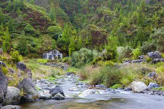 Kleiner Flus bei Lombadas, Azoren