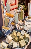 Handmade soap in Provence