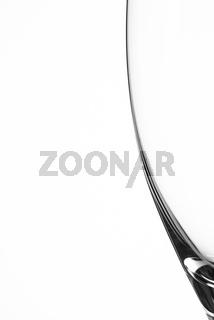 Sektglas im Close-Up