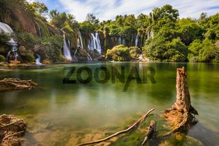 Kravice waterfall in Bosnia and Herzegovina