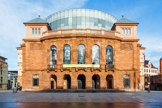 Staatstheater Mainz, Februar 2017.
