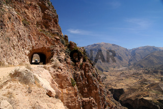 Road to Canyon Colca