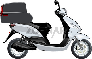 Vector scooter mock-up