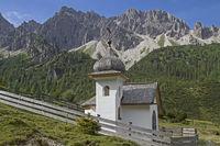 chapel in Karwendel mountains