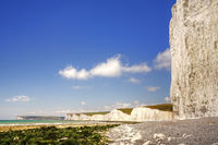 Beachy Head and the Seven Sisters.