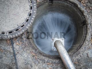 Wasser im Mannloch