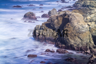 coastal scenes at usa pacific coast