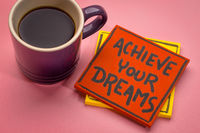 achieve your dreams reminder note