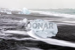 Iceberg Diamond beach Iceland