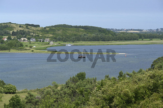 Blick auf Groß Zicker, Insel Rügen