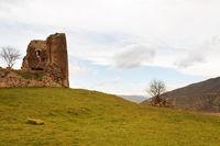 Ruins  ancient church on Georgia