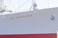 Cap San Diego in port of Hamburg (Germany)