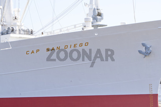 Cap San Diego in Hamburger Hafen