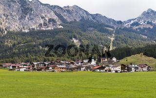 Graen, Tannheimer Tal, Tirol, Oesterreich