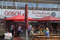 Gosch - Restaurant  im Hafen von List, Sylt, nordfriesische Inse