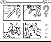guess insects coloring page