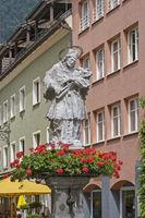 Nepomuk fountain in Bludenz
