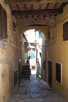 Passage in an old italian village