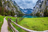 Magic blue lake Obersee
