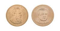 US Presidential - 1 Dollar coins