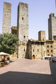 Zwillingstürme von Ardinghelli, San Gimignano