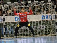 handball player,Goalkeeper Dario Quenstedt (SC Magdeburg)