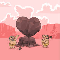 Valentine's Day in Stone Age