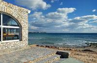 Restaurant near the sea in Dehesa de Campoamor. Spain