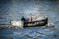 Boat on the river Thames