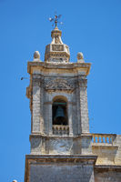Bell tower of the Collegiate Church of St Paul, Rabat, Malta