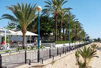 Promenade of Punta Prima.