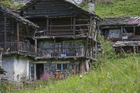 Traditional architecture in northern Piedmont