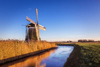 Windmill de Meervogel at winter afternoon