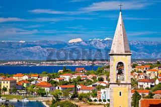 Sutomscica village and Zadar channel view