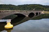 Deutschland, Hessen, Edersee, Asel, Aseler Brücke
