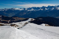 Panorama of the Alps in Tyrol