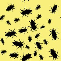 Beetle insect seamless pattern 664