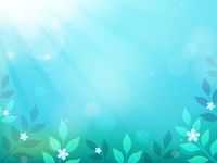 Spring thematics background 2